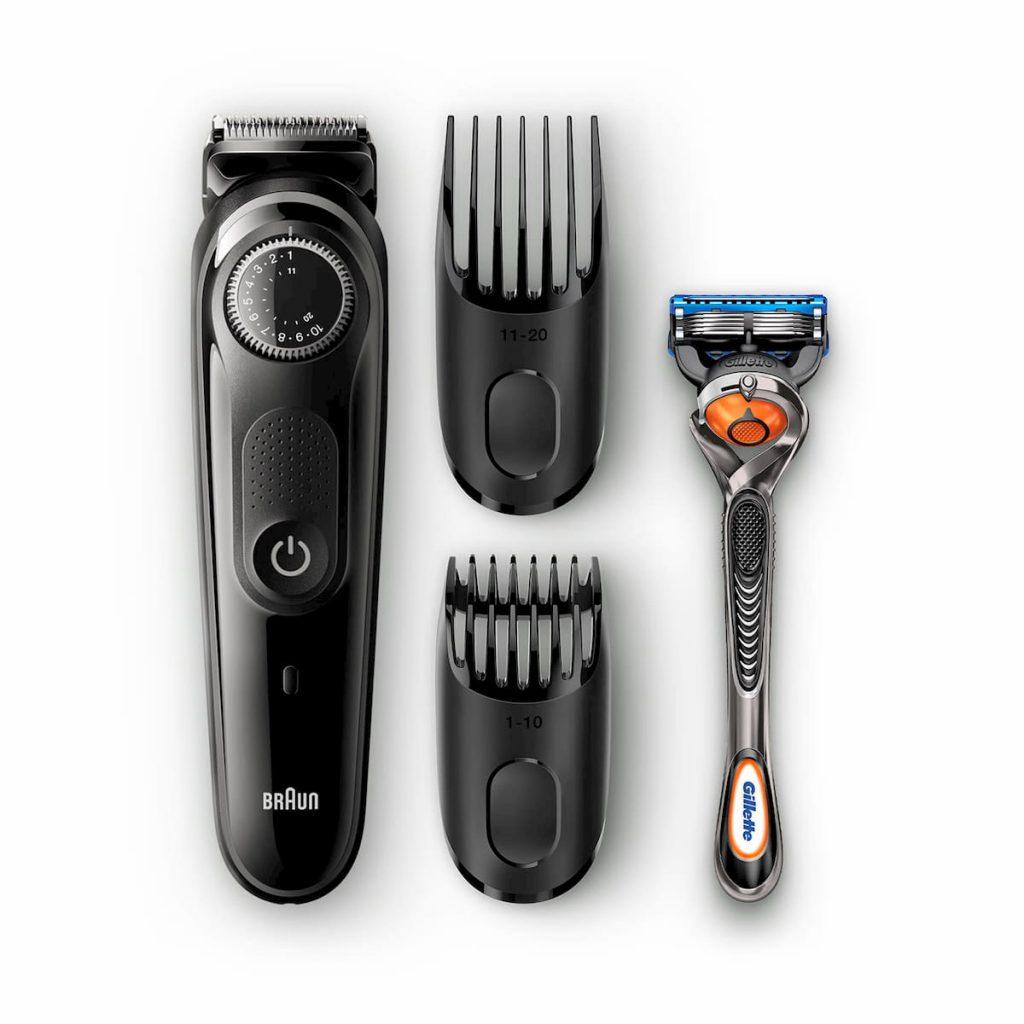recortadora de barba braun bt5042
