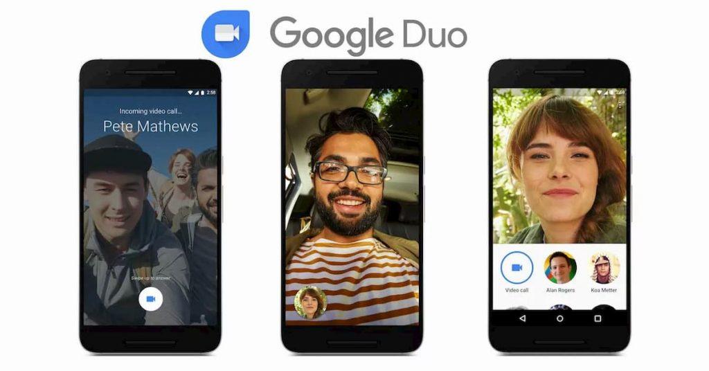 La interfaz de Google DUO es intuitiva